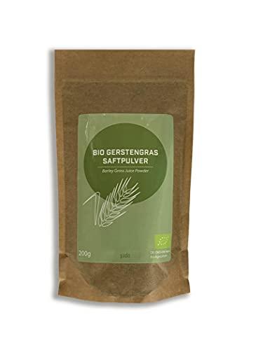 200g Bio Gerstengrassaft Pulver - zertifizierte Spitzenqualität