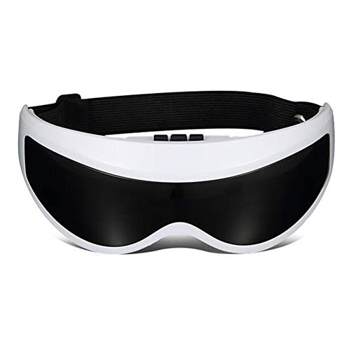 OLACPEA Smart Eye Massager with Visual Lenses, Rechargeable Eye Therapy Massager, Can Relieve Eye Fatigue, Dark Circles Under The Eyes, Dry Eyes to Improve Sleep