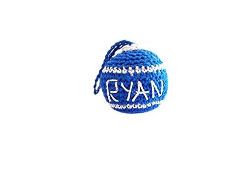 Max 76% OFF Crochet Personalized Ball Houston Mall Ornament Christmas Tree