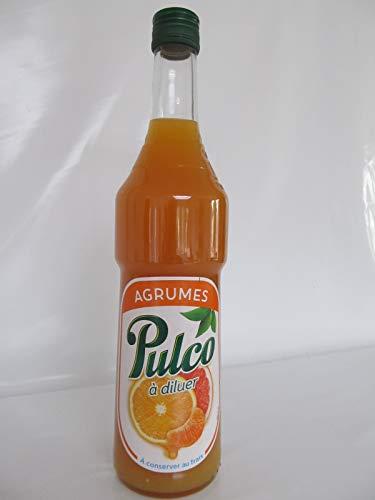 Pulco Agrumes französischer Zitrusfrucht Saft Konzentrat 0,7 Liter Sirup