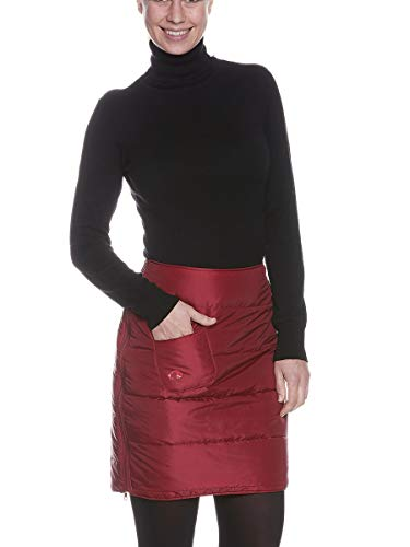 Tatonka Carli W's Jupe rembourrée pour Femme Rouge Cerise Taille 44