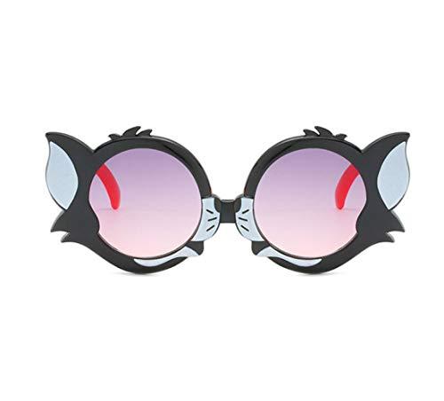 Children's Fashion Retro Cute Boy/Girl Plastic Sunglasses