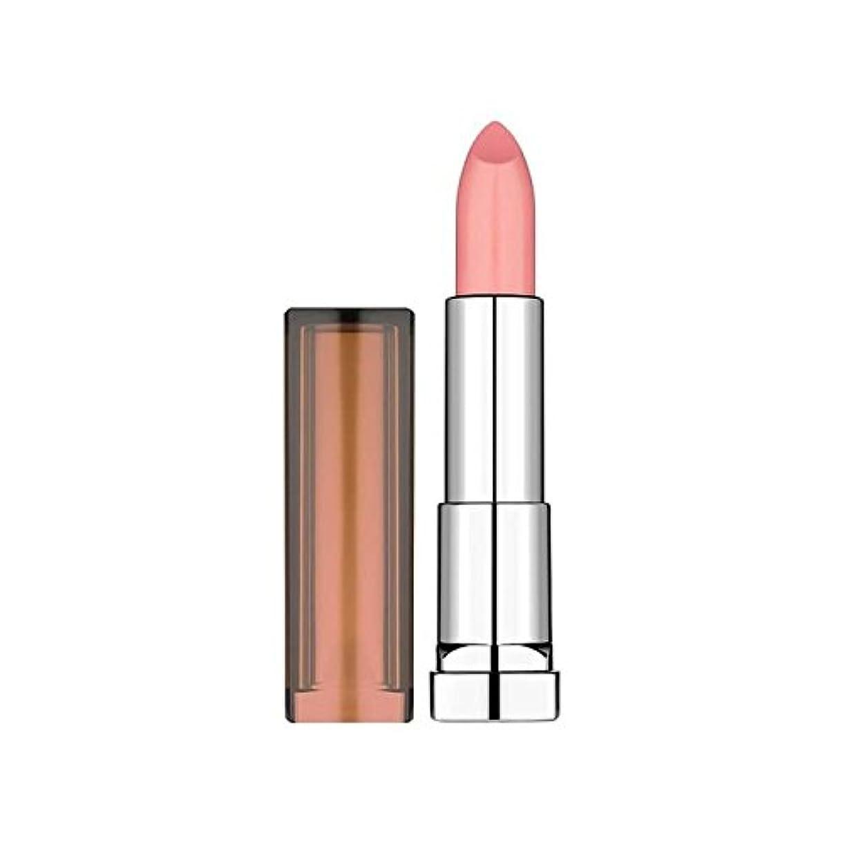 警察署乏しい害虫メイベリンカラーセンセーショナルなヌードは207ピンクの情事口紅 x4 - Maybelline Color Sensational Nudes Lipstick 207 Pink Fling (Pack of 4) [並行輸入品]