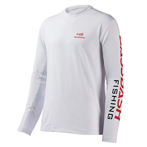 Bassdash Fishing T Shirts for Men UV Sun Protection UPF