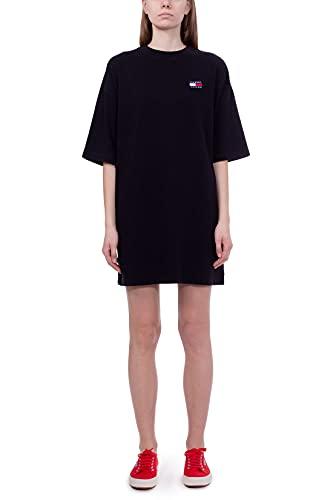 Tommy Jeans Damen Jerseykleid schwarz (15) L