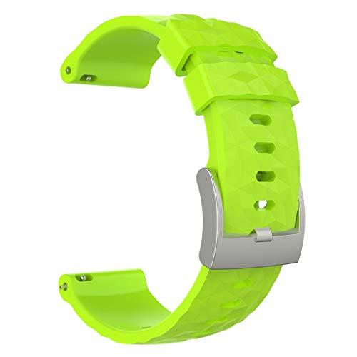 Bearbelly Compatible con Suunto Spartan Sport Wrist HR Baro/Suunto 9,Deportes Transpirable Super Suave,Correa para Hombres y Mujeres