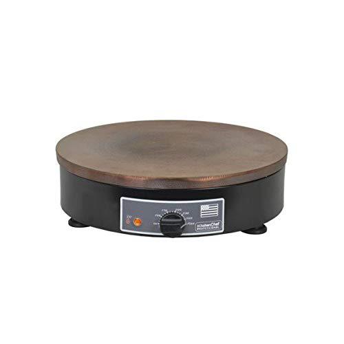 Kitchen chef - kcpcr400e - CrˆpiŠre fonte 40cm 3000w noir/marron