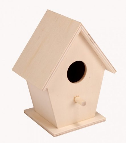 Kleur per eigen, vogelhuis – V