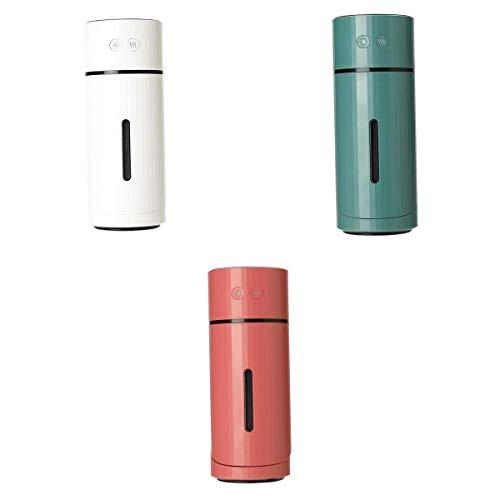 Amuzocity Humidificador de Aire USB de 3 Piezas, Luz de Noche LED para Oficina en Casa, Fabricante de Niebla