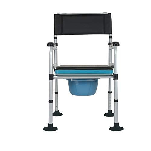 GLJJQMY Multifunktionshaushalt WC-Sitz Anti-Rutsch behinderte Schwangere Frauen Bad Stuhl Rollstuhl