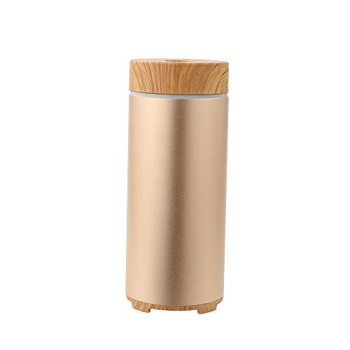 Smart Aroma Diffuser,100ml Ultraschall Diffusor Luftbefeuchter für Aromatherapie,Ätherische Öle Luftbefeuchter mit 7 Farben LED für zuhause,Yoga,Büro,SPA,Auto,Schlafzimmer