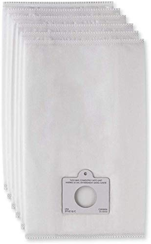 Hepa Vacuum Cleaner Bags for Kenmore Canister Vacuums, 6 Pack Fits Kenmore Vacuum Bags Type Q/C Fits Models 50557 50558