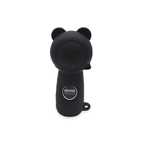 Karrychen Funda Protectora de Silicona Suave Protector de Tapa de Piel con mosquetón para Samsung Gear 360 2017 Edition Accesorios