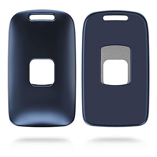 kwmobile Funda para Mando Compatible con Renault Renault Llave de Coche Smart Key de 4 Botones (Solo Keyless Go)- Carcasa Protectora Llave de Coche - Azul Oscuro Mate