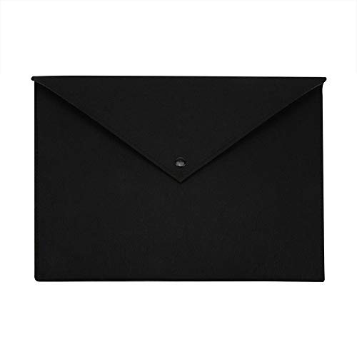 Purchase A4 Document Bag, Portable Simple Style Felt Document Folder Office File Document Arrange Br...