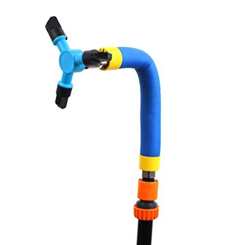 Guangruiorrty - Aspersor de agua para jardinería (rotación automática)