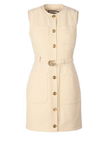 Luxury Fashion | Gucci Dames 609245Z8AH79205 Roze Zijde Jurken | Lente-zomer 20