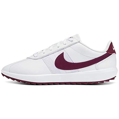 Nike Cortez g, Scarpa da Passeggio Donna, White/Villain Red/Barely Grape/Plum Dust, 38 EU