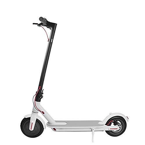 LL-SUNGIRL Scooter eléctrico Adulto, fácil de Plegar Ajustable, con Freno de Disco, Potente duración de la batería para el Transporte, Viajes