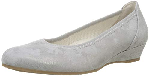 Gabor Shoes Damen Comfort Sport Geschlossene Ballerinas, Beige (Taupe 93), 44 EU