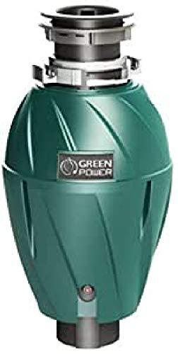 Elleci–Piano Tritacarne Green Power FWD 1000Top/capacità 1070ml/Stark 750W (1ps)/Molto Silenzioso di effektvolle isolamento acustico/cucina abfal lentsorger/cucina Tritatutto di spazzatura, raccolta di spazzatura spazzatura Tritacarne/Original Made in Italy.