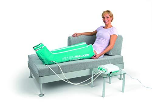 VenenWalker® Pro Venen Therapiegerät | Hilft gegen Verspannungen und bei schweren Beinen | Inkl. 2 Beinmanschetten und Timerfunktion [230 V]