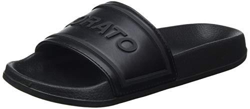 Antony Morato Slipper Harlem IN Faux Leather, Mule Hombre, Negro, 43 EU