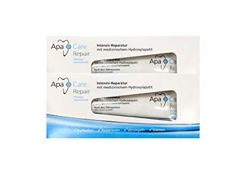 2x ApaCare Repair Intensiv-Reparatur Gel Zahncreme 30ml