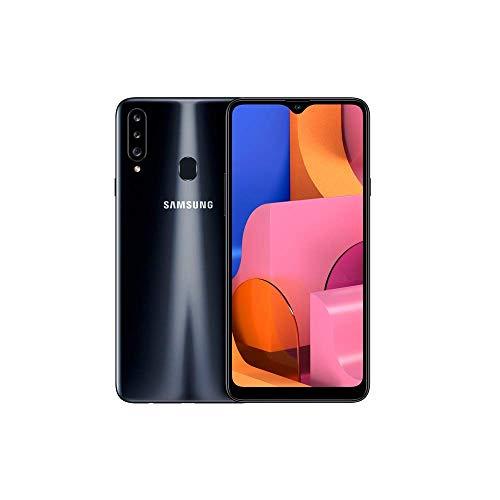 Samsung Galaxy A20s - Smartphone 6.5  Infinitiy V HD+ (teléfono 3GB RAM, 32GB ROM), Negro [Versión española]