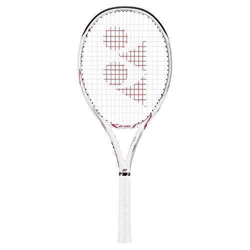 "YONEX EZONE 100 Super LITE White/Pink Tennis Racquet, 4 1/8"" Grip"