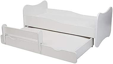 La cama infantil SPIDCAR cama para ni/ños infantil el tama/ño 160x80 con el colch/ón