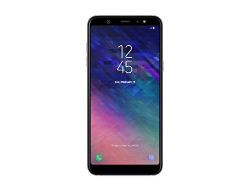 "Samsung Galaxy A6 Plus Smartphone, 6.0"", NanoSIM, 32 GB, 4G/LTE Cat6 300/50 Mbps, Processeur octo-coeur 1.8 GHz, Dual SIM, Gris - Version Italienne"