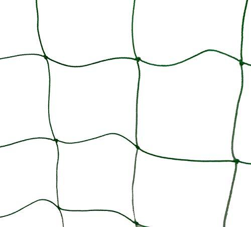 HomeGarden Amgate Nylon Trellis Netting Pe Netting Plant Support for Climbing Plants Green 59Ft x 59Ft