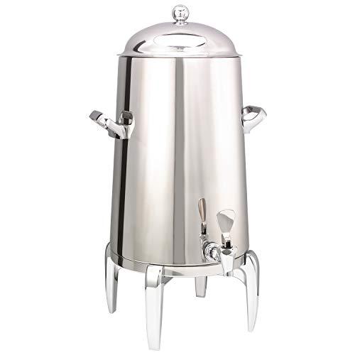 Service Ideas URN50VPS2 Flame-Free Urn, Vacuum Insulation, 5 Gallon, Polished Finish