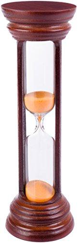 Sand Sanduhr Timer–Best Vintage oder Antik Stil Sand Glas mit Weltklasse Verarbeitung & Hohe Genauigkeit–Ideal für Gifting, Dekor oder Verwendung als 5Minuten Sand Uhr