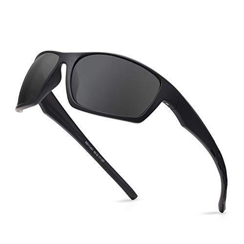 DEAFRAIN Polarized Sunglasses for Men Sports Running Hiking Sun Glasses Driving Shades
