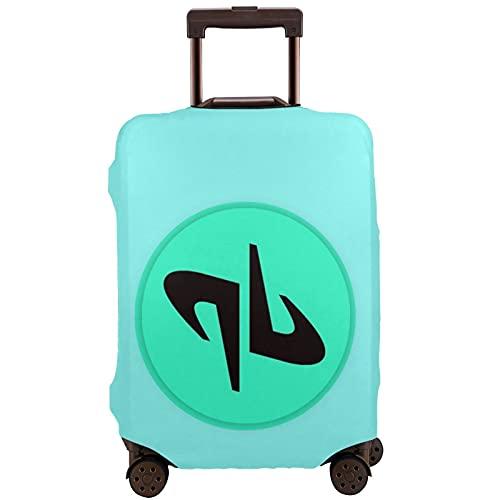 Dude_Perfect Copribagagli ad alta elasticità assicura che la valigia rimanga chiusa nel materiale durante il viaggio., bianco, 90