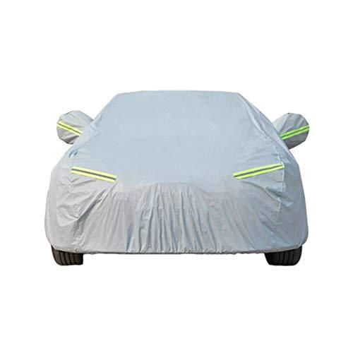 HotYou Funda para Coche Cubierta Antipolvo y Antirayos UV Universal Impermeable,Gris,2XL for SUV-Length(480 to 520CM)