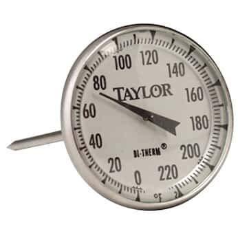 High order Taylor 61054J Commercial Series Under blast sales Analog Bimetal Instant-Read Meat