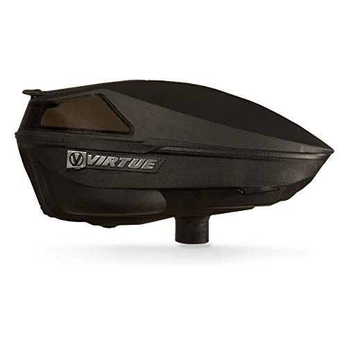 Virtue Spire IV Electronic Paintball Loaders/Hoppers - Black
