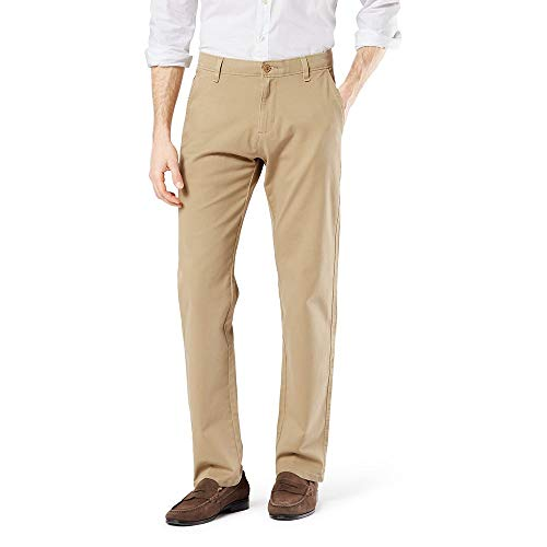 dockers Ultimate 360 Chino Slim Pantalones para Hombre, Color 79488-0000 New British Khaki, 33×32