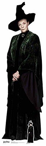 De los Libros Oficiales de Harry Potter Star Cutouts Lifesize Cartón Recorte del Profesor McGonagall 189 cm de Alto