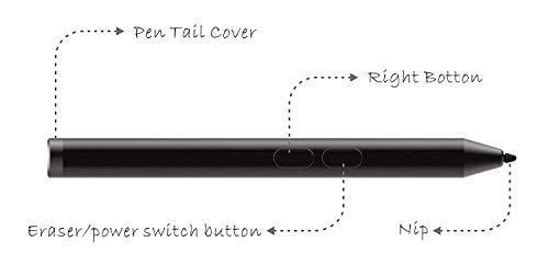 Broonel Stift / Stylus/Eingabestifte schwarz Kompatibel mit Sony VAIO Duo 13 (schwarz)