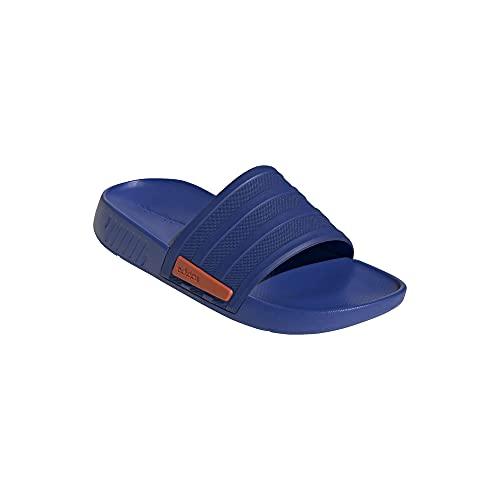 Adidas Racer Track Slide Chanclas, color Azul, talla 44.5 EU