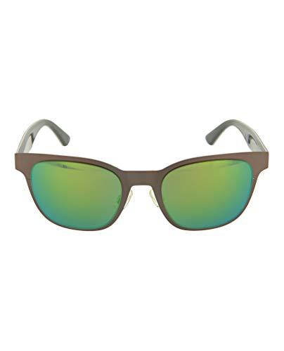 PUMA Herren PU0070S 003 Sonnenbrille, Grau (Ruthenium/Green), 50