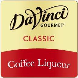 Da Vinci Coffee Liqueur Syrup (Formally Kahlua Syrup), 750 ML Plastic Bottle