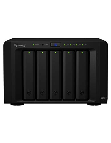 Synology DS1517+(2GB) NAS Server 5 Bay