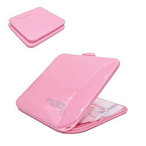 L+H 2X Maskenbox für Mundschutz im Set | Aufbewahrungsbox für Masken | Maskenboxen ideal zur Aufbewahrung von Masken zur Vermeidung von Maskenverschmutzung | Perfekt für Unterwegs Schule Büro…