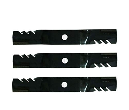 Compatible Parts_ 3PK Оrеgоn 396-810 G6 Gаtоr Blades Fits Кubоtа K5645-34330 K5645-34340 60