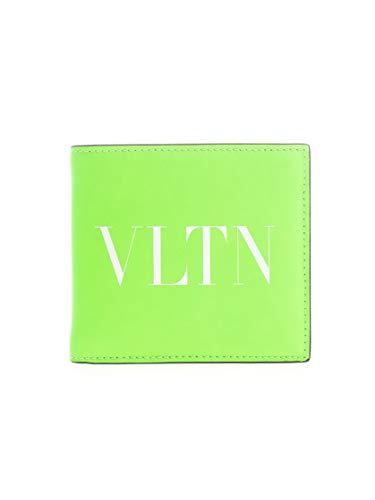 Luxury Fashion   Valentino Garavani Heren TY0P0654CFW23H Groen Leer Portemonnees   Lente-zomer 20